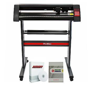 PixMax - Plotter da Taglio Vinile 72 cm & Software FlexiStarter11
