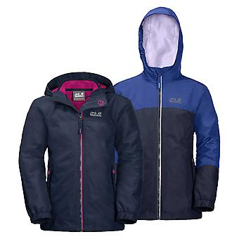 Jack Wolfskin Girls Iceland 3 in 1 Jacket
