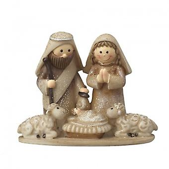 Heaven Sends Mary & Joseph Nativity Scene