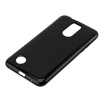 Cadorabo tapauksessa LG K4 2017 tapauksessa kansi - matkapuhelin tapauksessa joustava TPU silikoni - silikoni tapauksessa suojakansi Ultra Slim Soft Takakansi Tapauksessa Puskurin