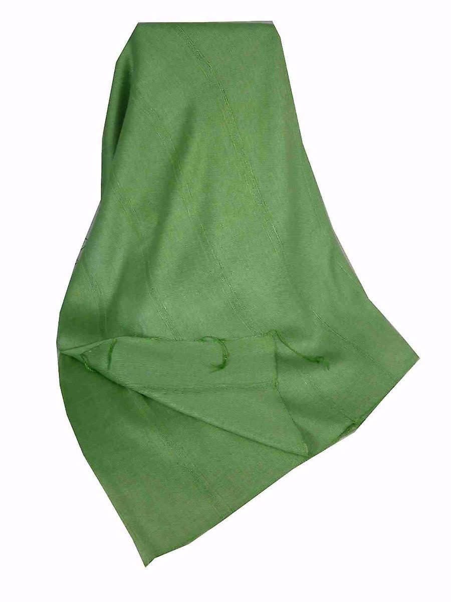 Mens Vietnamese Long Silk Scarf Hue Sage by Pashmina & Silk