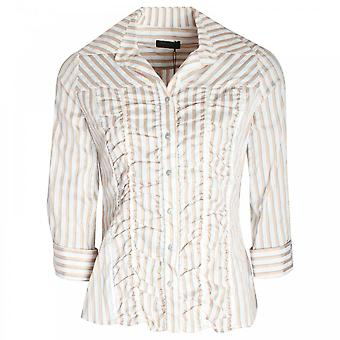 Apanage Striped Boyfriend Fit Women's Shirt