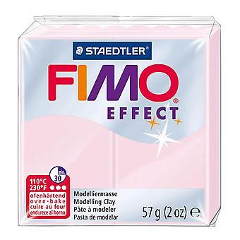 STAEDTLER FIMO effet 8020-206 durcissement au four, argile à modeler, 57 g-quartz rose