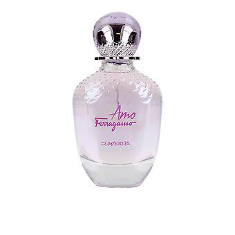 Salvatore Ferragamo AMO Flowerful EDT spray 30 ml voor vrouwen