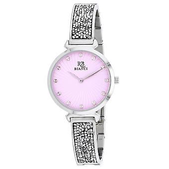 Roberto Bianci Femmes apos;s Brillare Pink Dial Watch - RB0201