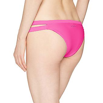 Billabong Women's Tanlines Isla Bikini Bottom Rosa Medium