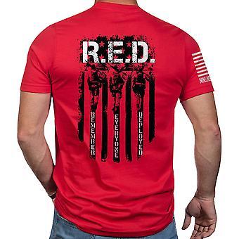 Nine Line Apparel R.E.D. Short Sleeve T-Shirt - Red