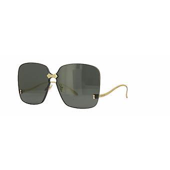 Gucci GG0352S 001 Gold/Grey Sunglasses
