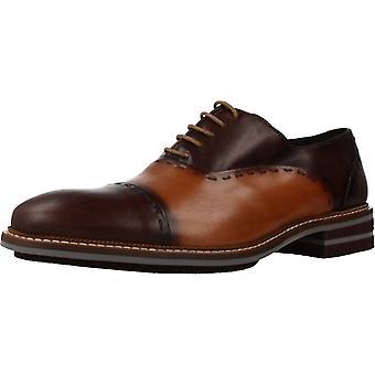 Angel Infantes Zapatos De Vestir 77069a Color Cuero