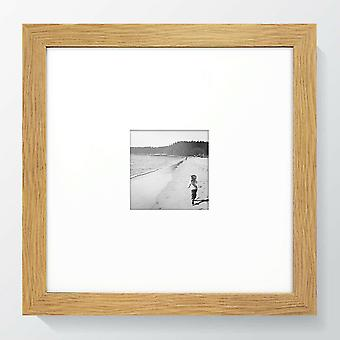 Modern Oak Wood Photo Frame Square Contemporary 721 Picture Poster Wide Wall Mounted