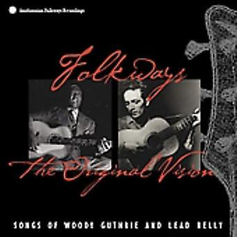 Woody Guthrie & Lead Belly - Folkways: Original Vision [CD] USA import