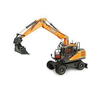 Doosan DX160 W Wheeled Excavator Diecast Model Excavator