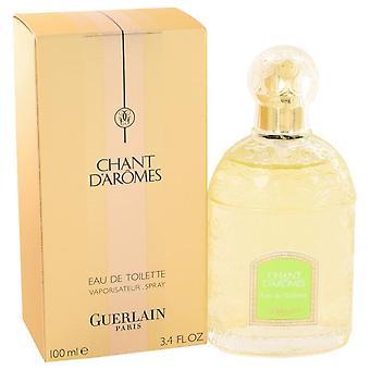 Chant d'aromes eau de toilette spray by guerlain 416955 100 ml
