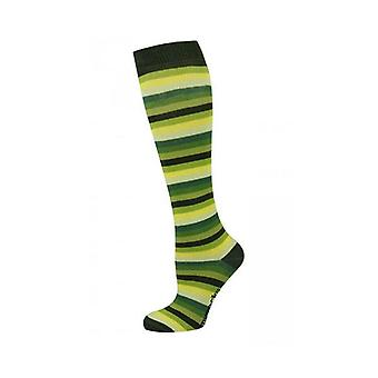 Kids Knee High Multi Stripe Socks
