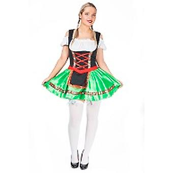 Sexy Dirndl Oktoberfest dress ladies costume