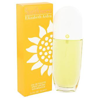 Sunflowers Eau De Toilette Spray Par Elizabeth Arden 401822 50 ml