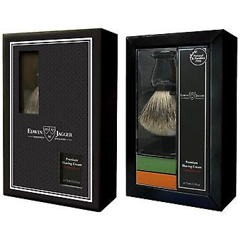 Black blaireau Box/stand/CR me Shave Granada ja vihreä sitruuna-miehet