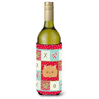 Persian Modern Cat Wine Bottle Beverage Insulator Hugger