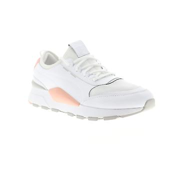 Puma RS-0 Sound  Mens White Mesh Leather Low Top Sneakers Shoes