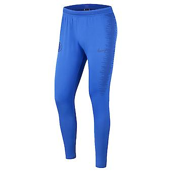 2019-2020 Chelsea Nike Vaporknit Strike harjoittelu housut (sininen)