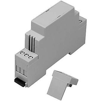 Axxatronic CNMB-1V-KIT-CON DIN rail casing 90 x 17.5 x 58 Polycarbonate (PC) 1 pc(s)