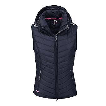 Pikeur Libell Womens Quilted Waistcoat - Night Sky/blue