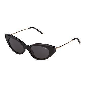 Mulberry Emma SML005 0BLK Black Super Black/Smoke Sunglasses
