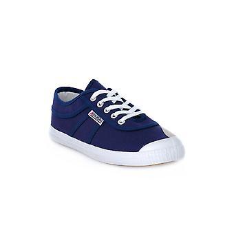 Kawasaki navy sneakers fashion