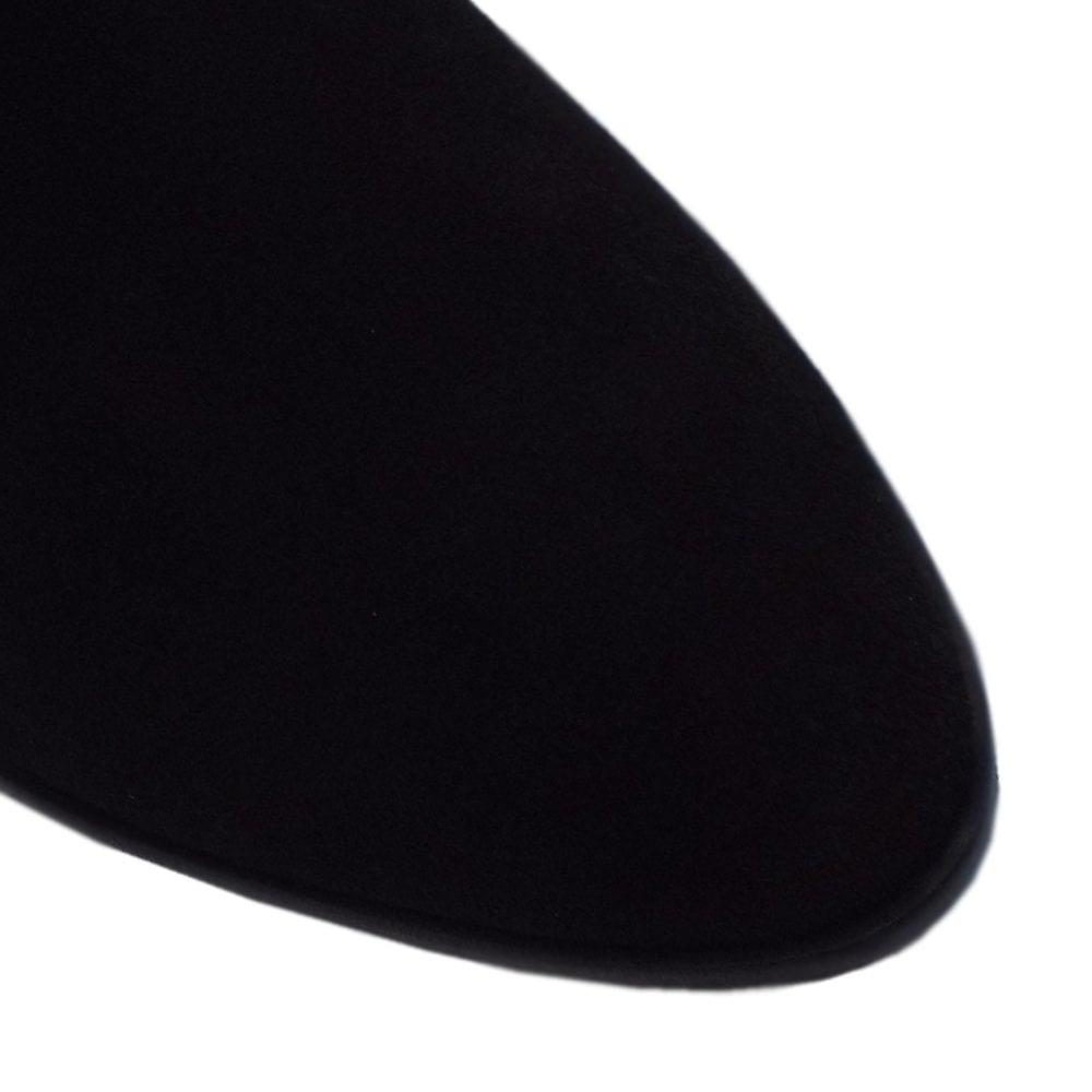 Högl 8-10 2762 Lathy Stylish Over The Knee Boots In Black Suede pPg0z