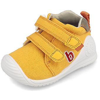Biomecanics Boys 202212-C Canvas Shoes Yellow