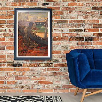 Paul Gauguin - Ppovero Pescatore 1896 Poster Print Giclee