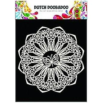 Néerlandais Doobadoo Masque néerlandais Art pochoir papillon 145mm 470.715.110
