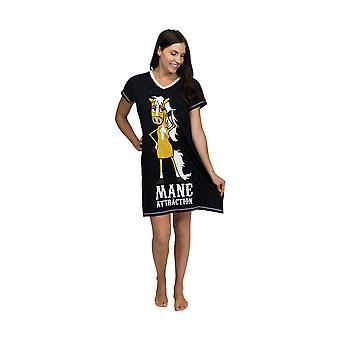LazyOne Womens/Ladies Mane Attraction Nightshirt