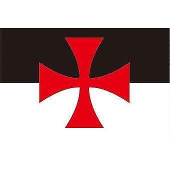 Cross pate Ritter Templer Flagge