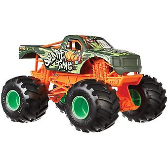 Hot Wheels Monster Trucks 1:24 Scale Die-Cast Assortment (One Supplied)