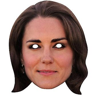 Catherine Duchess of Cambridge Royal Single Card Party Fancy Dress Mask