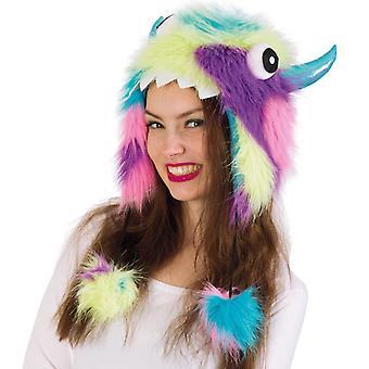 Pălărie de pluș colorate fiara bestia monstru