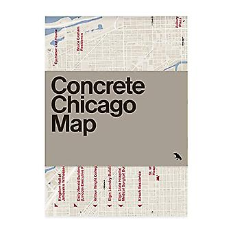 Concrete Chicago Map by Iker Gil - 9781912018635 Book