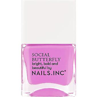 Nails inc Social Butterfly Nail Polish Collection - Future Is Fly 14ml