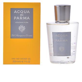 Acqua Di Parma Cologne Pura cheveux & douche Gel 200 Ml pour les hommes