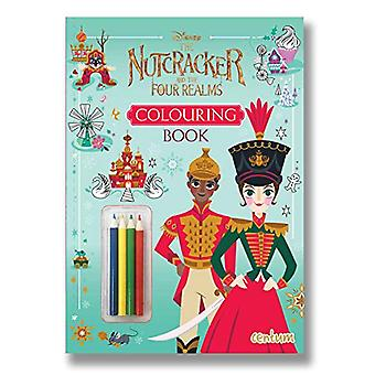 The Nutcracker and the Four Realms Colouring Book with Pencils - 9781