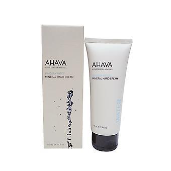 Krem do rąk mineralne AHAVA, 3,4 uncji