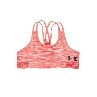 تحت درع HeatGear درع الجدة الاطفال الفتيات الرياضة حمالة الصدر الأعلى الوردي