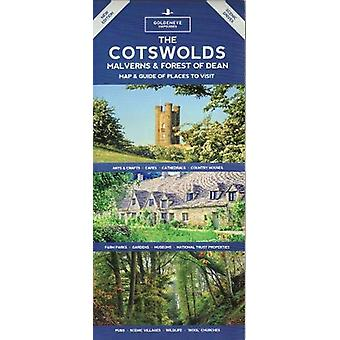 The The Cotswolds - Malverns & Forest of Dean - Map & Guide of