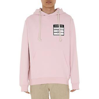 Maison Margiela S50gu0132s25443360 Men's Pink Cotton Sweatshirt
