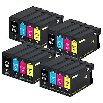 4 Set di 4 cartucce di inchiostro per sostituire Canon PGI-1500XL compatibile/non OEM da Go Inks (16 inchiostri)
