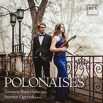 Polonaises For Violin & Piano [CD] USA import