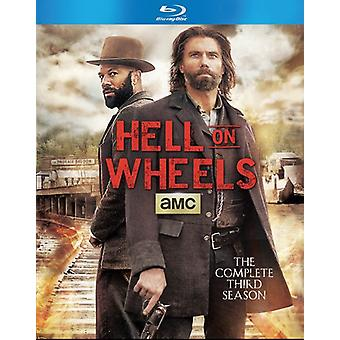 Hell on Wheels: Complete Third Season [BLU-RAY] USA import