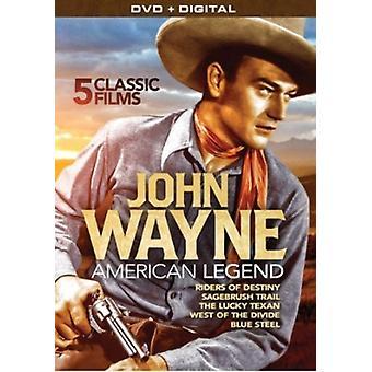 John Wayne: American Legend [DVD] USA import