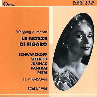 Mozart / Schwarzkopf / Seefried / Petri / Karajan - Le Nozze Di Figaro [CD] USA import